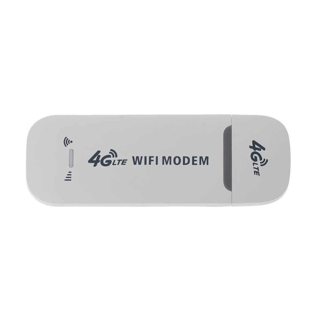 4G LTE 150Mbps pequeño Universal WiFi Modem Stick USB inalámbrico llave electrónica de alta velocidad enrutador liberado adaptador blanco tarjeta de red