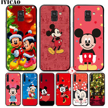Mickey Minnie Mouse Soft Silicone Case voor Samsung Galaxy A70s A50s A40s A30s A20s A10s A20E Telefoon Cover(China)