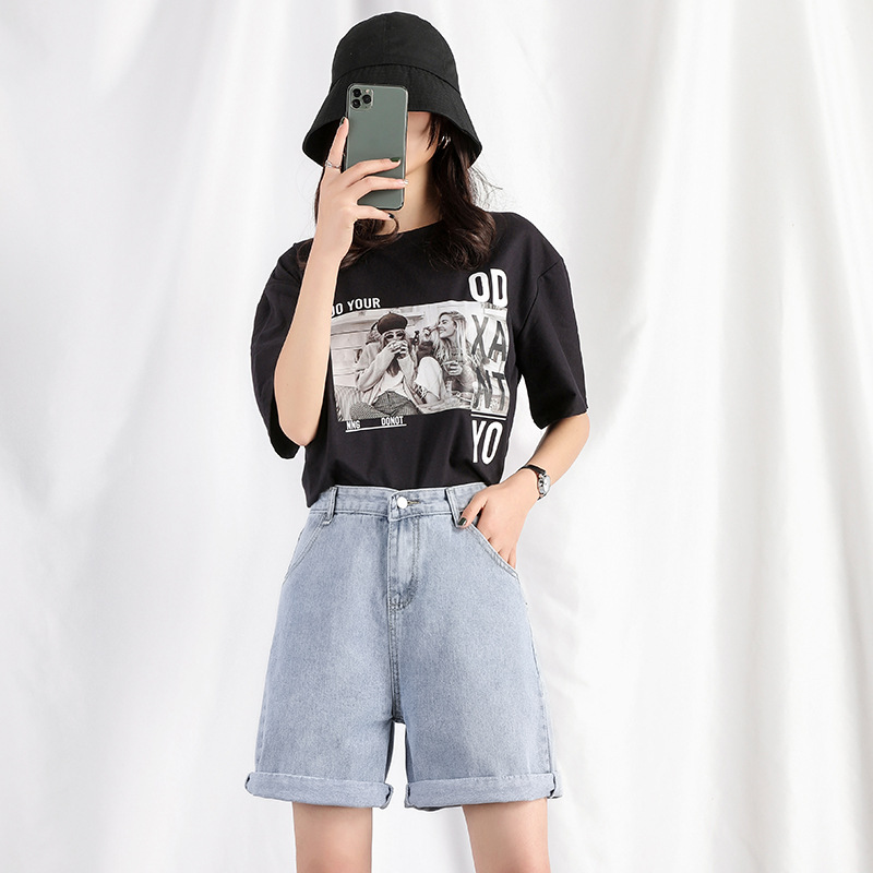 2020 New Summer Preppy Style Cotton Women Pants Loose Fashion Casual Style High Waist Sexy Wide Leg Pants Free Shipping