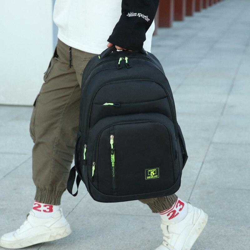 2020 New Backpack USB Computer Bag School Bag Tide Outdoor Sports Backpack,Men's Bag Backpack Mountaineering Bag Backpack Korean