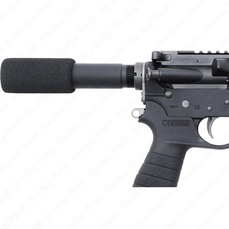 Taktik 223 5.56 Mil AR-15 M16 Tabanca Tampon Tüp 3.5