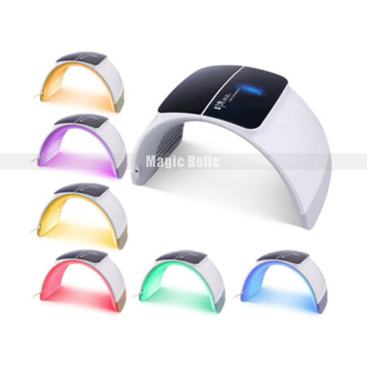 Foldable 7 Colors PDT Led Light Therapy Machine For Skin Care Acne Removal Anti-wrinkle Skin Rejuvenation