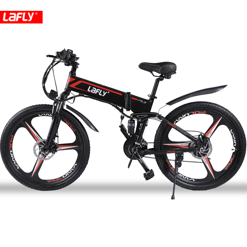 Duty free LAFLY X3 26inch electric mountain bicycle 48V1000W high speed motor Lightweight frame hidden lithium battery ebike 3