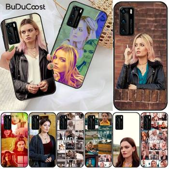 Emma Mackey Maeve Wiley Phone Case For Huawei P9 10 20 30 40 P Smart 20lite 2019 P30 lite Pro P9 lite 2017 image