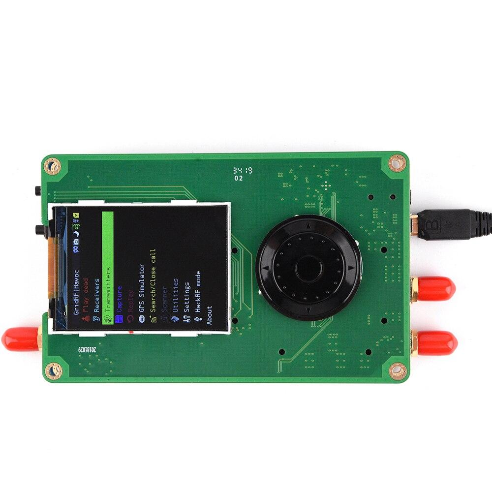 PortaPack Console 0.5ppm TXCO For HackRF One 1MHz-6GHz SDR Receiver And Transfer AM FM SSB ADS-B SSTV Ham Radio C1-007