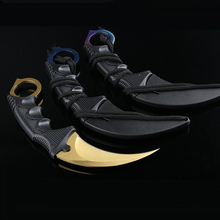 Steel Claw knives Karambit Hunting Knife Tactical Claw Neck Knife Camp Hike Outd