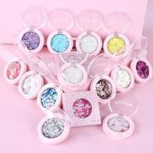2019 Mengkilap Eye Shadow 14 Warna Multicolor Matte Makeup Loose Powder Fleksibel Tahan Lama Glitter Eye Shadow Bubuk Mutiara TSLM1(China)