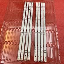 8 Pçs/set tira retroiluminação LED para LG 49UH610V 49UH603V 49UH601V 49UH620V innotek 15.5Y 49 polegada 49UH61_UHD_A B HC490DGN-SLNX5-514X