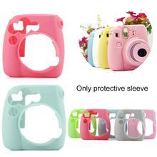 1Pcs Soft and non-slip Camera Silicone Case For Polaroid Fujifilm Instax mini 8/8+/9