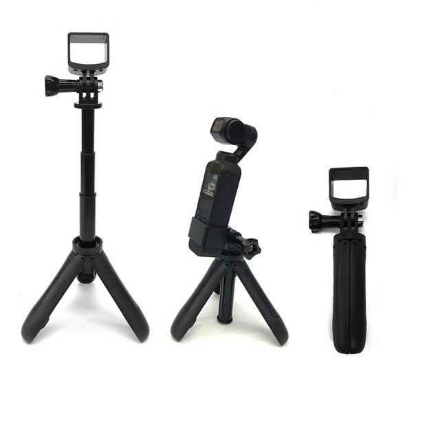 mini desktop tripod Selfie stick holder aluminum alloy Rod mount dji camera For DJI osmo Pocket / osmo Pocket 2 camera