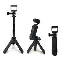 mini desktop tripod Selfie stick holder aluminum alloy Rod mount pocket camera for FIMI PALM pocket camera gimbal Accessories