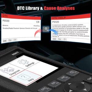 Image 4 - LAUNCH x431 CR5001 OBD2 Code Reader Scanner ODB2 Car Diagnostic Tool Free Update Automotive Scanner OBDII Turn Off Engine Light