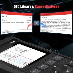 Image 4 - เปิดตัวX431 CR5001 OBD2รหัสเครื่องสแกนเนอร์ODB2เครื่องมือวินิจฉัยรถยนต์ฟรีUpdateเครื่องสแกนเนอร์OBDIIปิดเครื่องยนต์