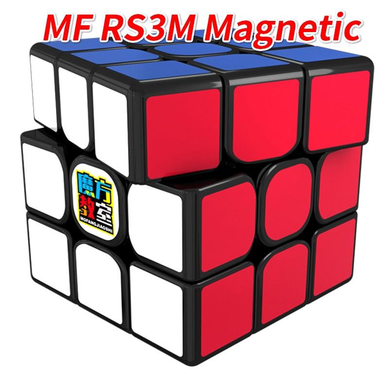 Cubo magnético MoYu MF RS3M 3x3x3 o MF3RS3 3x3 RS3M 2020, cubo mágico, cubo RS3 MF3RS MF3RS2 3*3, Cubo de juguete para niños Cubo mágico sin etiqueta MoYu 3x3x3 meilong, Cubo de rompecabezas, cubos de Velocidad Profesional, juguetes educativos para estudiantes