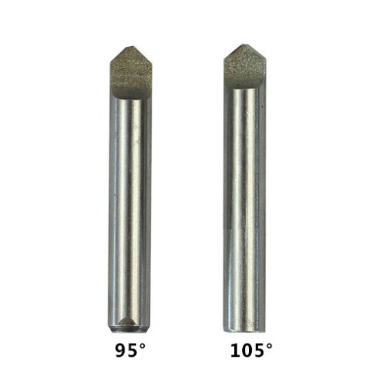 95 105 Degree HSS Dimple Milling Flat Cutter Tracer Probe Pin For Vertical Key Cut Machine Locksmith Tool