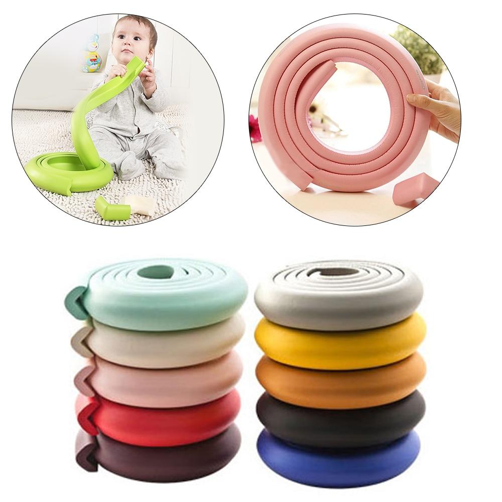 2 м защита для детского стола, защита для углов мебели, мягкий пенопластовый бампер для мебели, защита для углов