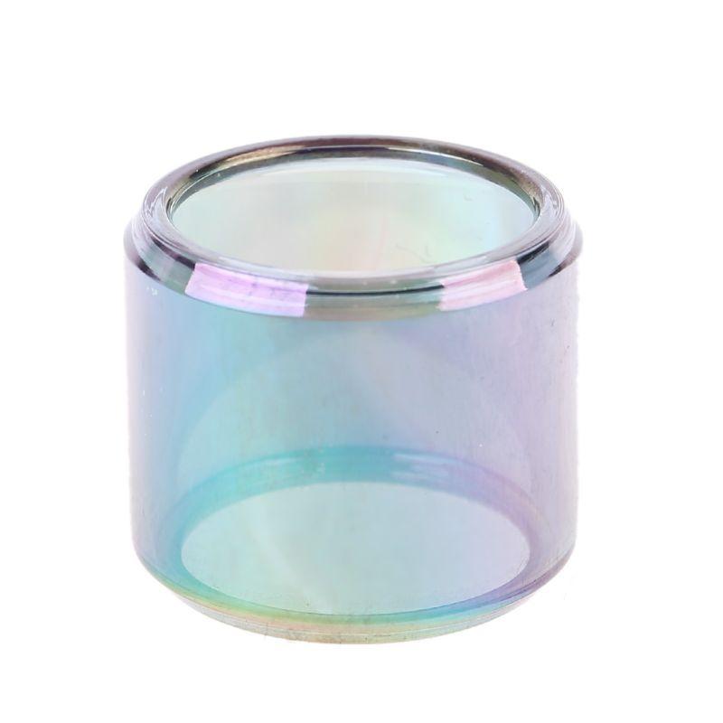 Rainbow Pyrex Glass Tube Glass Tank For Manta RTA Tank Atomizer Fatboy Version
