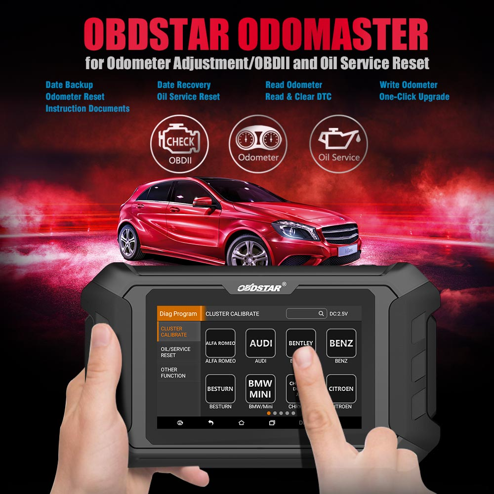 Image 5 - New Arrival OBDSTAR ODOMASTER ODO MASTER X300M+for Odometer Adjustment/OBDII with Special Functions Cover More Vehicles Models T-in Car Diagnostic Cables & Connectors from Automobiles & Motorcycles on