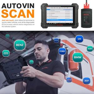 Image 5 - Autel MaxiCOM MK908 Code Reader Car Diagnostic Tool OBD2 Scanner Ferramentas Automotivas Para Carros Auto Scanner