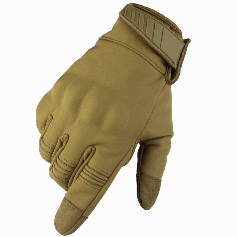 Wind-proof And Waterproof Tactical Warming Gloves Outdoor Motorcycle Touch Screen Gloves Skid-proof And Wear-resistant Gloves