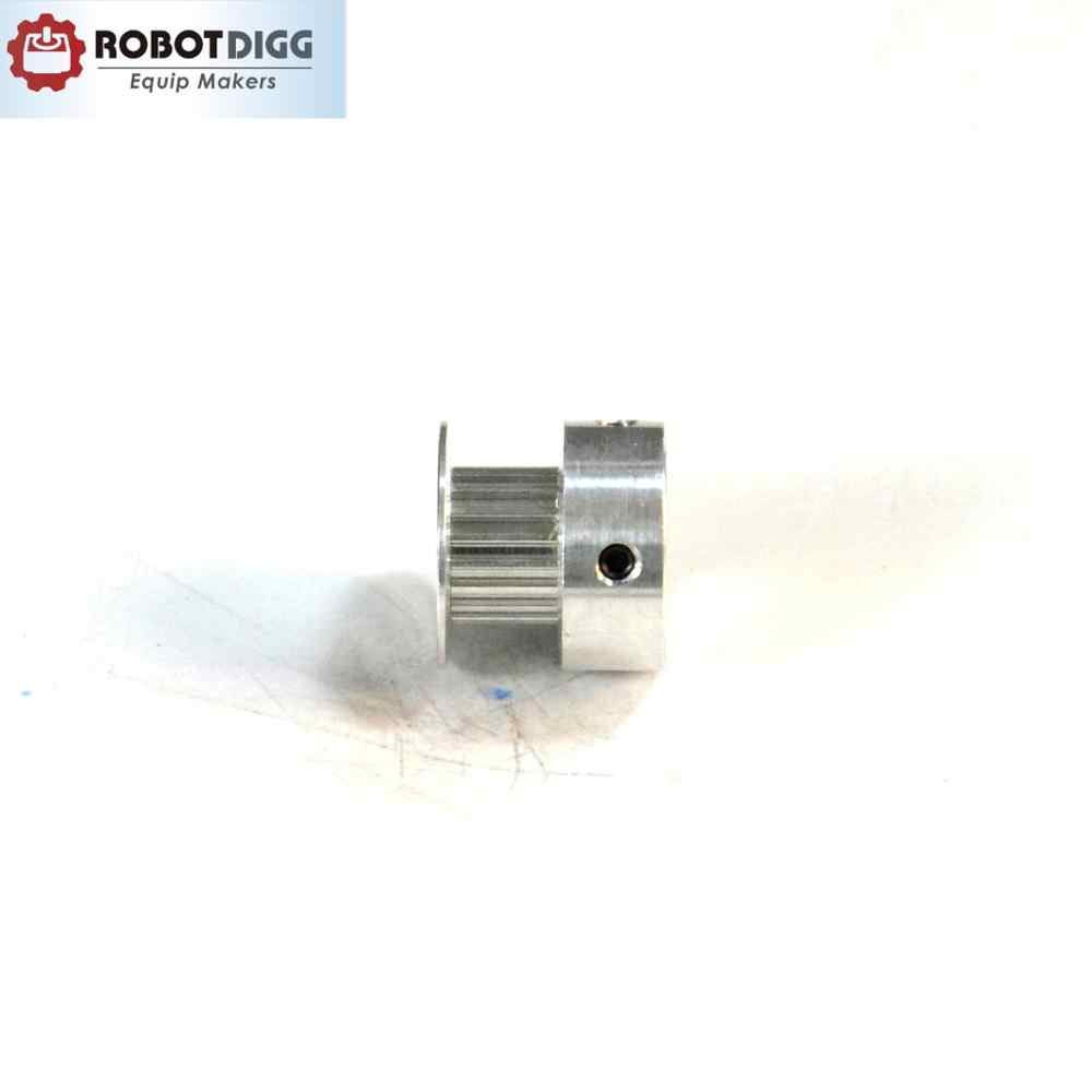 """5pcs MXL Aluminum Timing Belt Pulley 20 Tooth 4mm Bore 0.08/"""" Pitch Stepper Motor"""