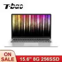 T-bao X8S 15,6 zoll Ultra-dünne Laptop 1080P IPS Celeron J3455 8G Speicher 256G SSD Tragbare Computer für Büro und Spiel