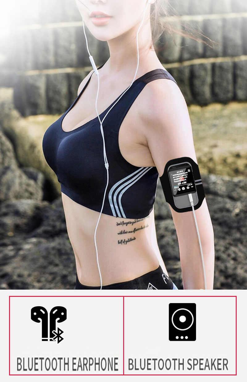 Original RUIZU M5 Sport Bluetooth MP3 Player 8gb Clip Mini Full touch screen Unterstützung FM, Aufnahme, e-buch, Uhr, Schrittzähler