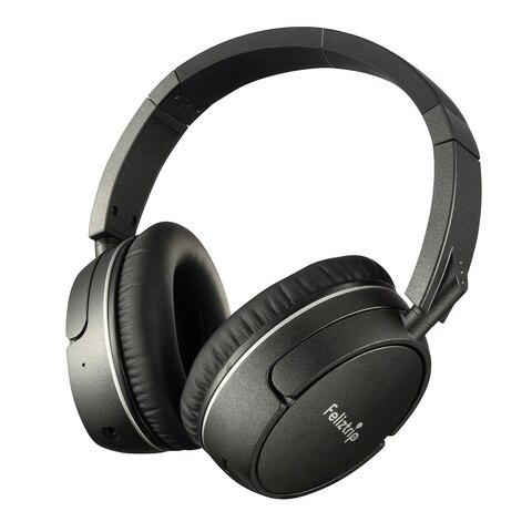 Fones de Ouvido sem Fio Fones de Ouvido com Cancelamento de Ruído Fones de Ouvido Apt-x Bluetooth Ativo Dobrável & Portátil Jogos Csr