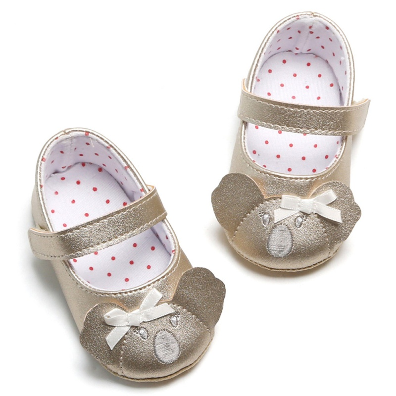 Toddler Baby Shoes Soft PU Leather Baby Boys Girls Infant Toddler Moccasins Shoes Slippers First Walkers Non-slip Mouse