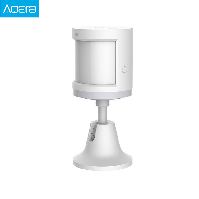 100% Aqara Human Body Sensor ZigBee Movement Motion Security Wireless Connection Light Intensity Gateway 2 Mi home APP 1