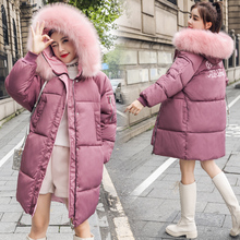 Big Fur Winter Coat Female Jacket New 2019 Hooded Parka Warm Winter Jacket Women Wadded Ladies Plus size 6XL Women's down jacket стоимость
