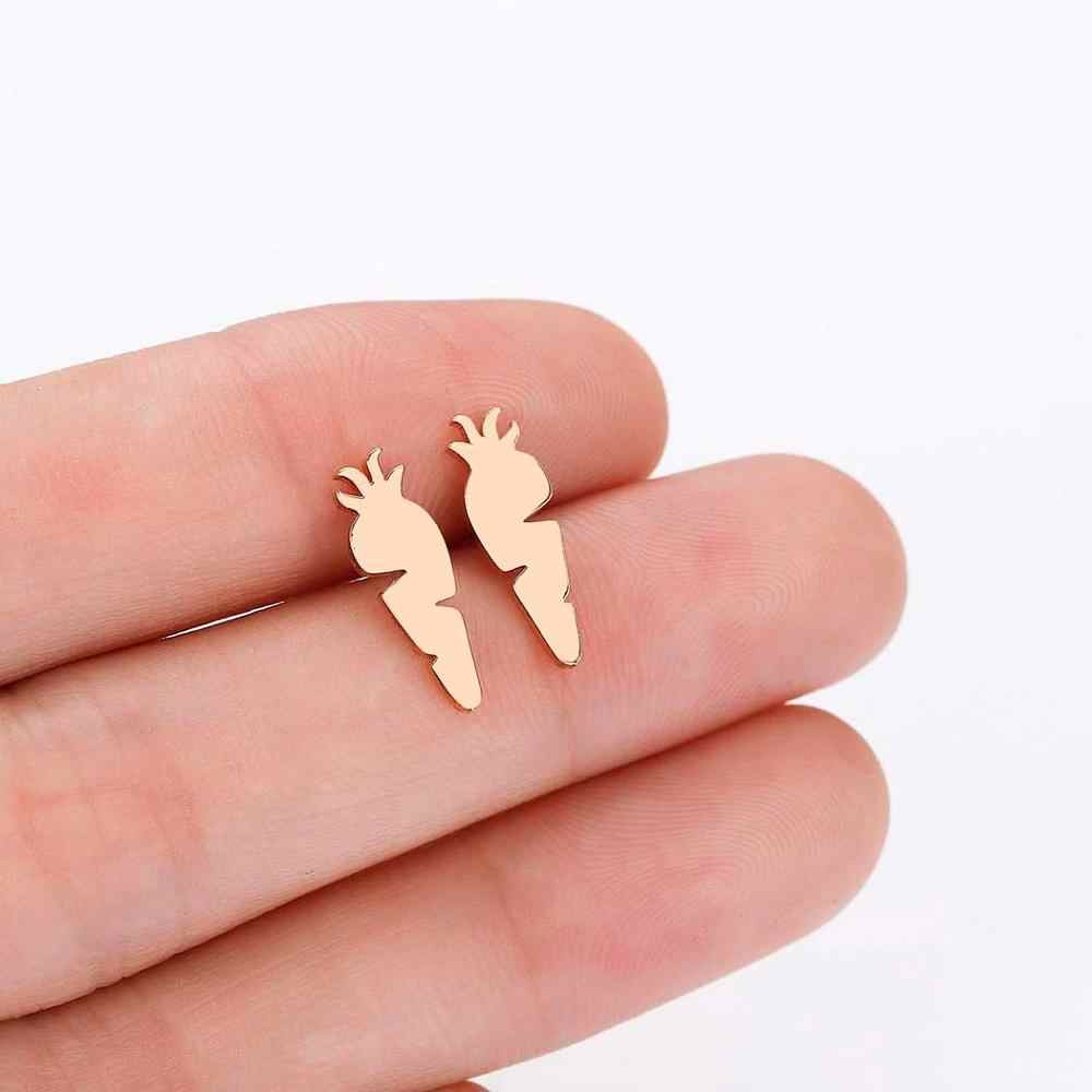 Tiny เงินสตรีต่างหูเด็กเครื่องประดับเด็กกระต่ายม้านกหมีแมว Bee สัตว์สตั๊ดต่างหูราคาถูกของขวัญ