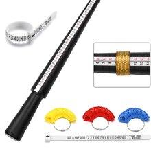 1 шт., профессиональные ювелирные инструменты, кольцо, ручка, пальцевое кольцо, размер r, размер r, Размер Великобритании/США, для самостоятель...