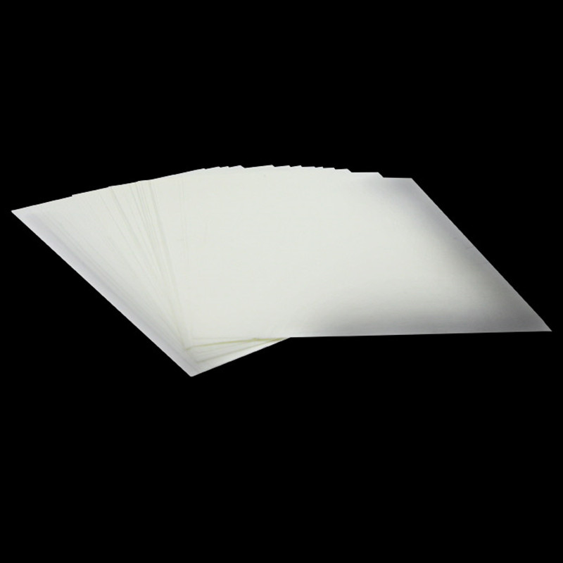 DIY Chocolate Transfer Sheet Paper A4 Blank Clear Candy Print Rice Sheets Cookie Edible Cake Paper Ink Printing 10sheets/lot