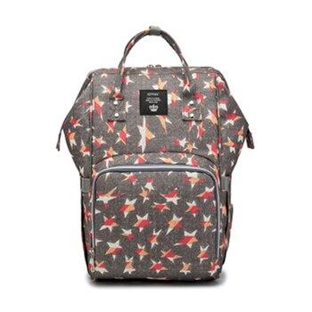 цена на New Fashion Diaper Bag Mummy Maternity Nappy Backpack Multifunctional Large Capacity Nursing Travel Backpack Baby Bag