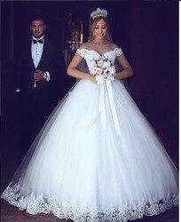 FATAPAESE Romantische Spitze Ballkleid Hochzeit Kleid 2019 Vestido De Noiva Sexy Kappe Hülse Backless Hochzeit Kleider Robe De Mariee