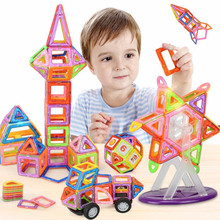32 PCS big size magnetic building blocks Model Building Toys Brick designer Enlighten Bricks magnetic toys