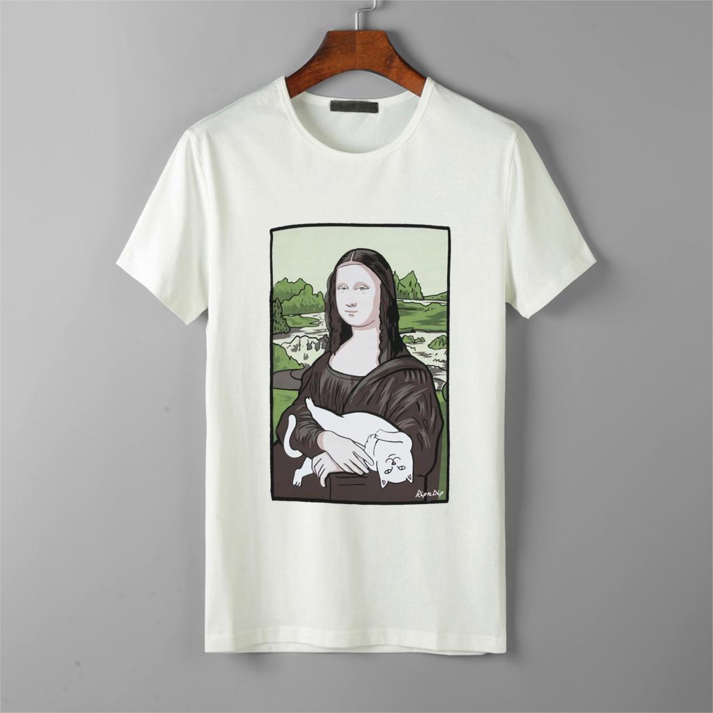 Rip N Dip Nermal Lisa T-Shirt In Black