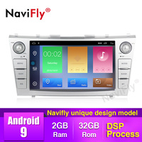 NaviFly Android 9 Car Media Player for Toyota Camry 2007 2008 2009 2010 2011 Car Radio Wifi BT 4 Core GPS Navigation RDS 2+32G