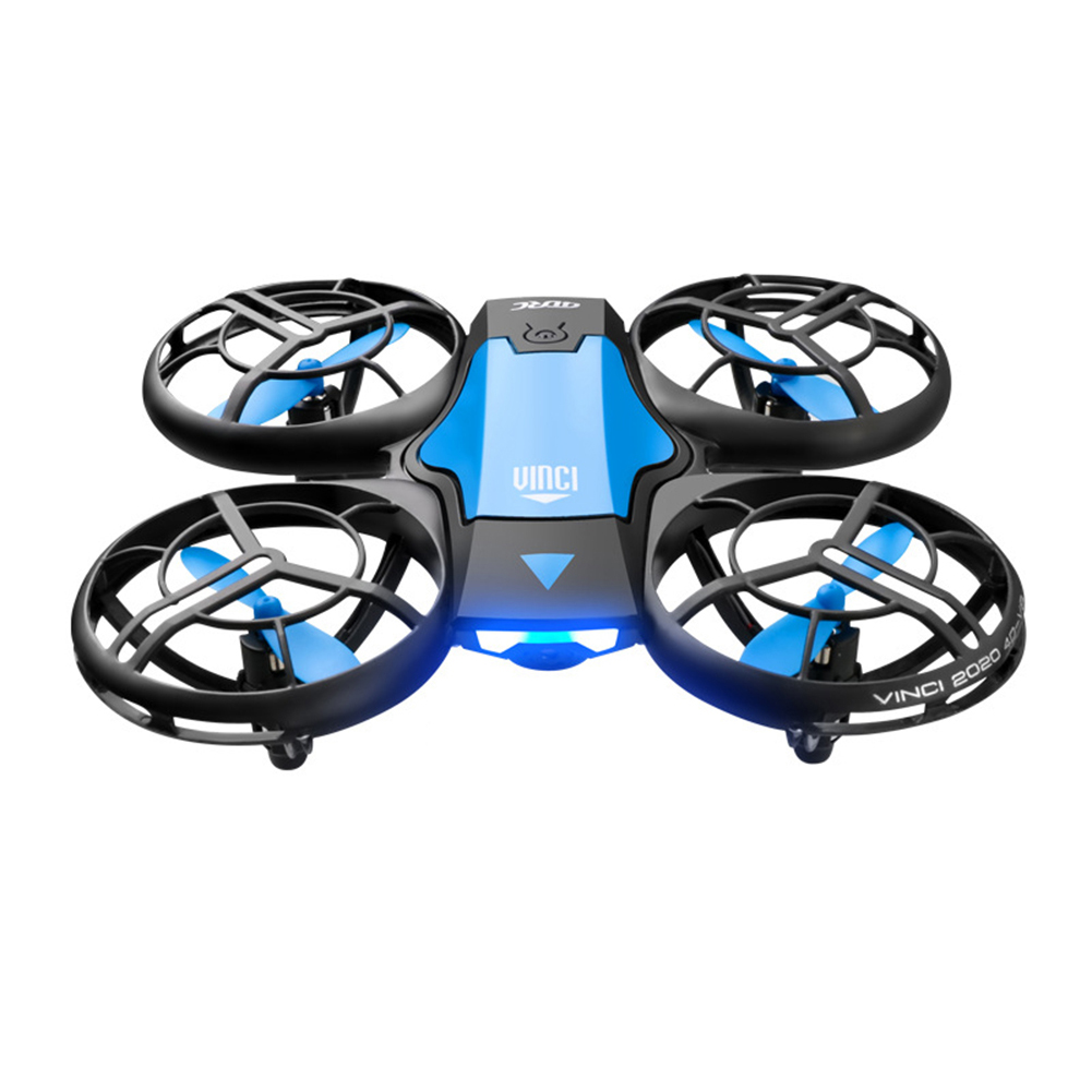H3367b32f51324a99aa3db5ab9b0edf5cn - New V8 Mini Drone 4K 1080P HD Camera WiFi Fpv Air Pressure Height Maintain Foldable Quadcopter RC Dron Toy Gift