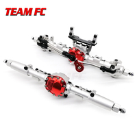 Axial SCX10 II Alloy Front Rear Straight Complete Axle for 1/10 SCX10 II 90046 90047 RC Crawler Car Upgrade Parts