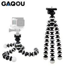 GAQOU م L حجم مرنة حامل ثلاثي القوائم صغيرة Gorillapod Monopod الأخطبوط حوامل ل Gopro كاميرا رقمية كانون نيكون الهاتف المحمول