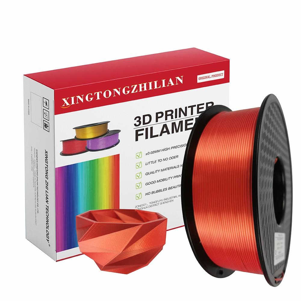 3D Printer Filament PLA 1.75mm, 3D Printing Filament PLA for 3D Printer and 3D Pen,Dimensional Accuracy +/- 0.02mm,1kg 1 Spool