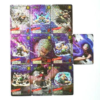 10 sztuk zestaw ONE PIECE Roronoa Zoro Nami Sanji zabawki Hobby Hobby kolekcje kolekcja gier Anime karty tanie i dobre opinie TOLOLO C758 Fantasy i sci-fi 8 ~ 13 Lat 14 lat i więcej Dorośli Chiny certyfikat (3C)