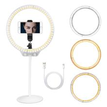 10.5 Tabletop Makeup Ring Light for YouTube Video Tutorial, Selfie, Portrait and Live Streaming White video tutorial nrf51422nrf51822 nrf51dk bluetooth ant 4 0ble development pca10028