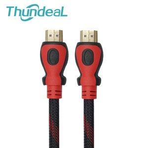 Image 4 - Cable HDMI de alta velocidad, 5m, 10m, 20M, 1,4 V, 1080P, 3D, para proyector TD96, TD90, TD60, HDTV, ordenador, enchufe chapado en oro, Cable HDMI