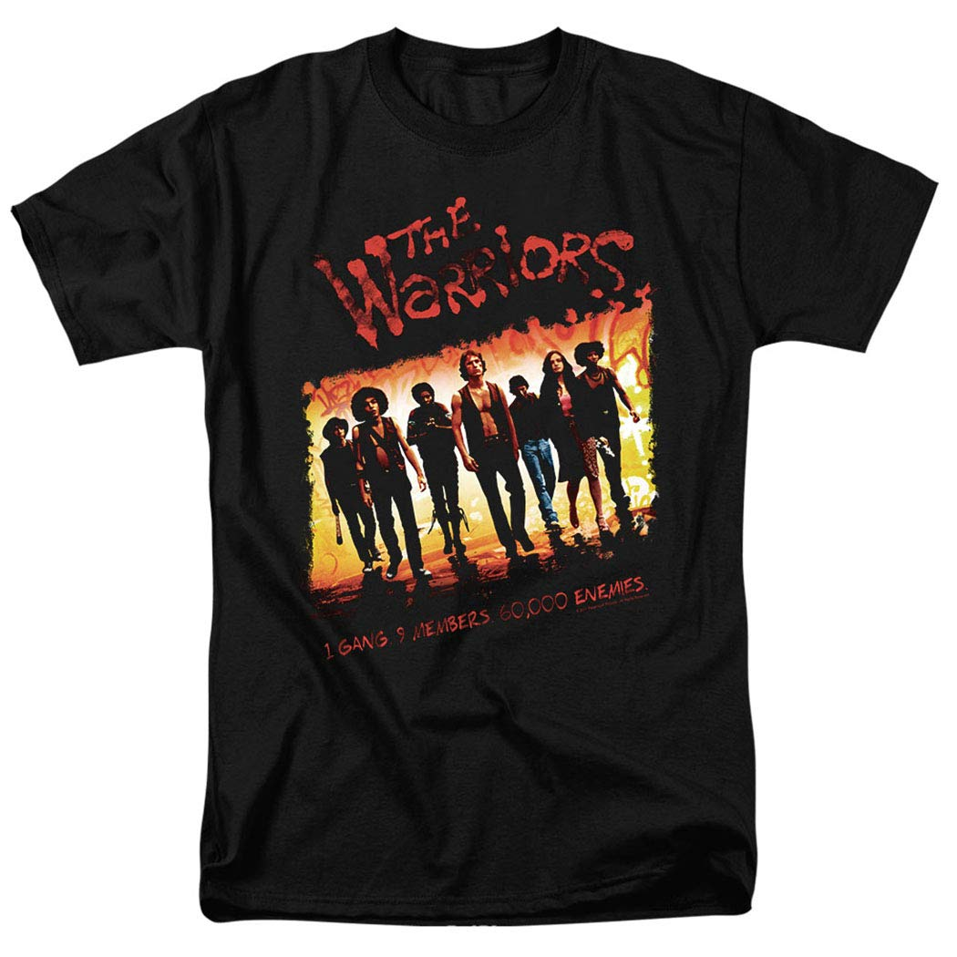 The Warriors Come Out to Play Gang Movie T Shirt & Exclusive Stickers image