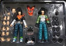 in stock 1/12 Android NO.17 Action Figure MIR Dragon Ball Super DBZ  Brinquedos Model Toy  set
