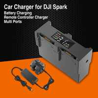 HOT Charger For DJI Spark Drone Fast Charging Hub Multi Battery 4 Ports Travel Charger Travel Transport Outdoor Charger UAV