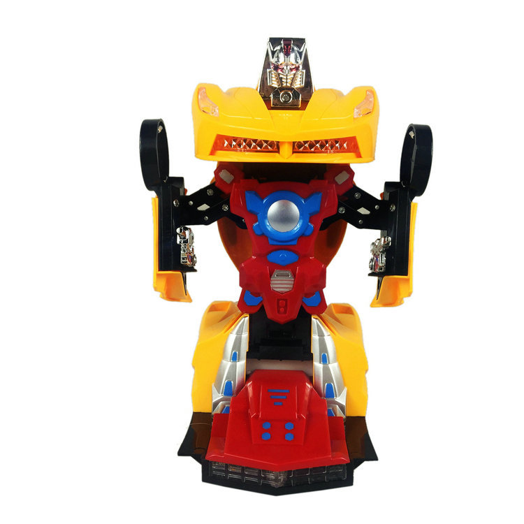 Automatic Transformation Autobots 2031 Bumblebee Toy Car Light CHILDREN'S Toy